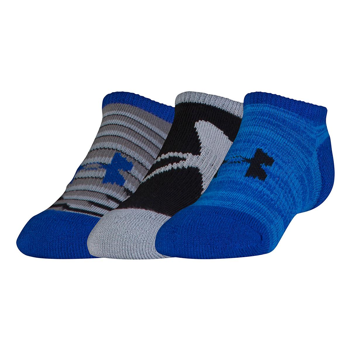 Kids Under Armour�Next 2.0 Solo No Show 3 pack