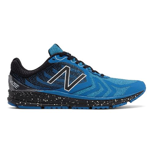 Mens New Balance Vazee Pace v2 Protect Running Shoe - Blue/Black 12.5