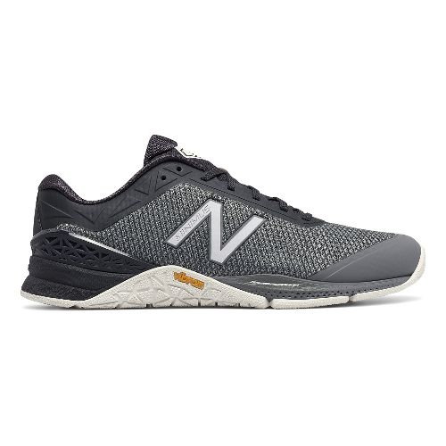 Mens New Balance Minimus 40v1 Cross Training Shoe - Grey/Grey 7