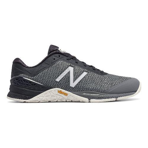 Mens New Balance Minimus 40v1 Cross Training Shoe - Grey/Grey 8.5