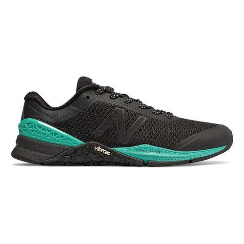 Womens New Balance Minimus 40v1 Cross Training Shoe - Black/White 8