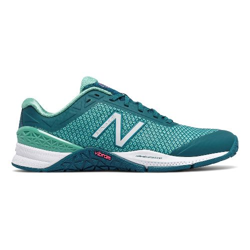 Womens New Balance Minimus 40v1 Cross Training Shoe - Teal/Teal 10.5