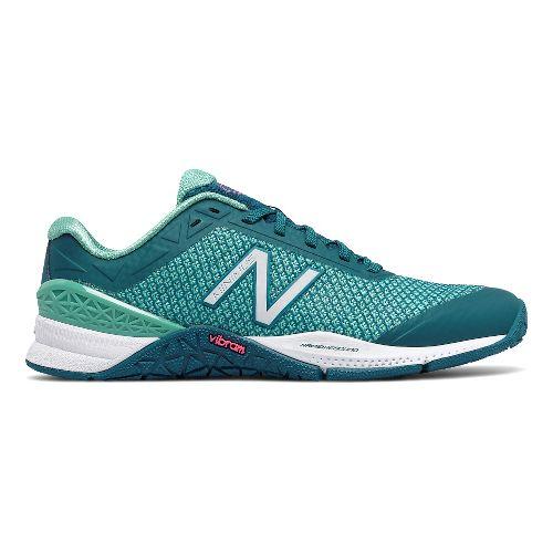 Womens New Balance Minimus 40v1 Cross Training Shoe - Teal/Teal 5