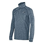 Mens ASICS Thermopolis 1/2 Zip Long Sleeve Technical Tops