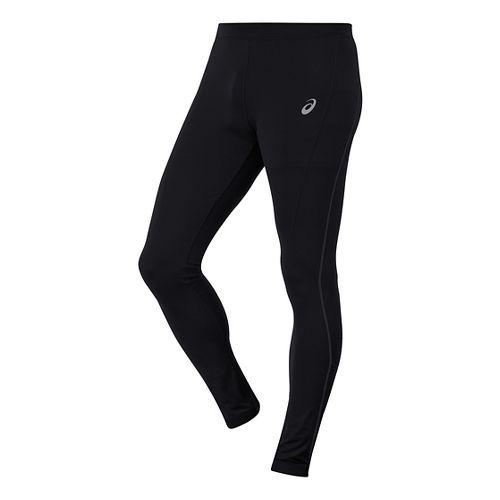 Mens ASICS Thermopolis Tights & Leggings Pants - Performance Black LR