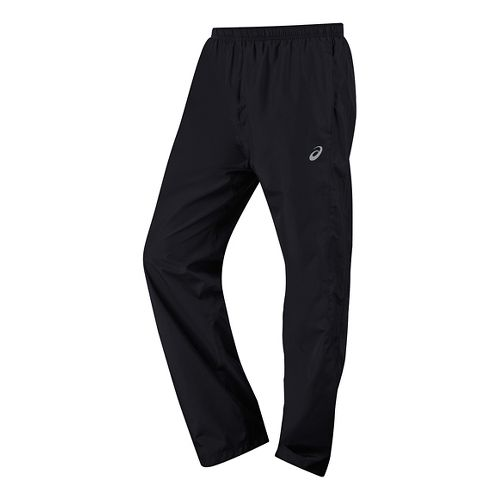Mens ASICS Storm Shelter Pants - Performance Black L