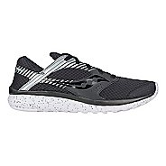 Mens Saucony Kineta Relay Reflex Casual Shoe - Black/Silver 8.5