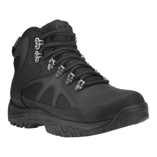 Mens Timberland Bridgeton Mid Waterproof Hiking Shoe - Black 10