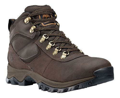 Mens Timberland Mt Maddsen Mid Waterproof Hiking Shoe - Dark Brown 8
