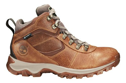 Mens Timberland Mt Maddsen Mid Waterproof Hiking Shoe - Light Brown 13