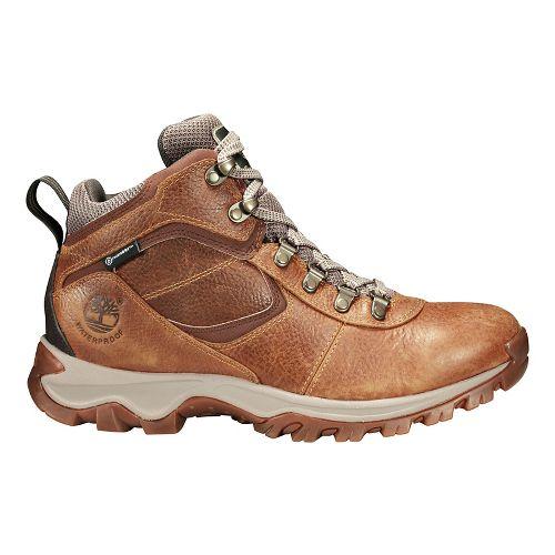 Mens Timberland Mt Maddsen Mid Waterproof Hiking Shoe - Light Brown 8.5
