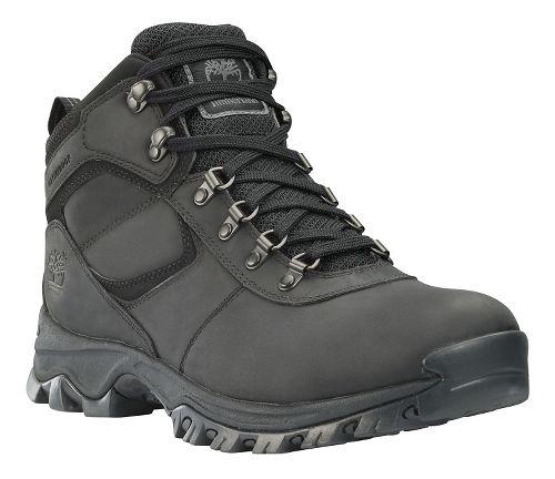 Mens Timberland Mt Maddsen Mid Waterproof Hiking Shoe - Black 8.5