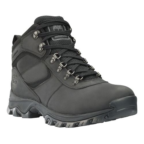 Mens Timberland Mt Maddsen Mid Waterproof Hiking Shoe - Black 10