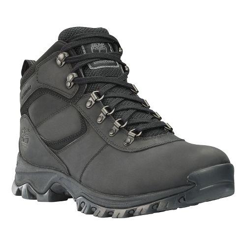 Mens Timberland Mt Maddsen Mid Waterproof Hiking Shoe - Black 9