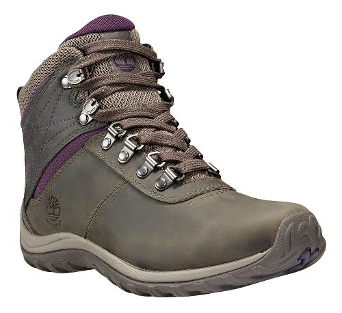 Womens Timberland Norwood Mid Waterproof Hiking Shoe - Pewter 9