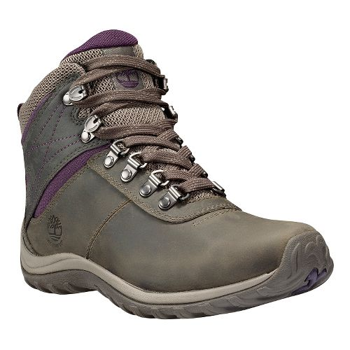 Womens Timberland Norwood Mid Waterproof Hiking Shoe - Pewter 10