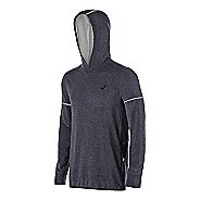Mens ASICS Lightweight Fleece Hoodie & Sweatshirts Technical Tops