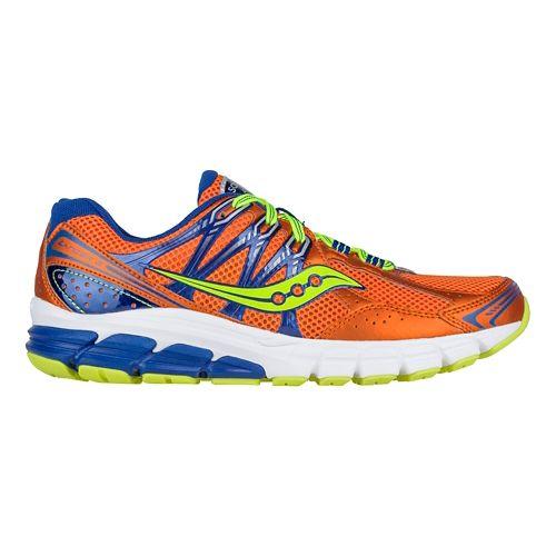 Mens Saucony Lancer 2 Running Shoe - Orange/Blue/Citron 9.5