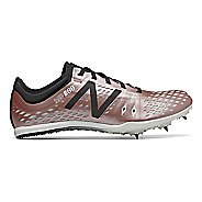 Womens New Balance MD800v5 Track and Field Shoe - Rose Gold/Black 9