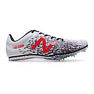 Mens New Balance MD500v5 Track and Field Shoe - White/Black 12.5