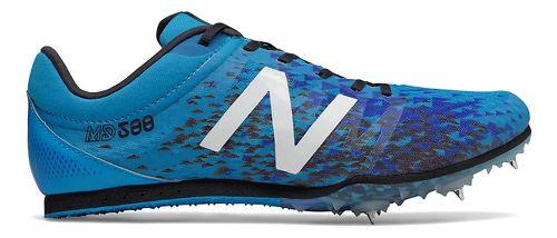 Mens New Balance MD500v5 Track and Field Shoe - Blue/Black 8