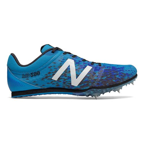 Mens New Balance MD500v5 Track and Field Shoe - Blue/Black 8.5