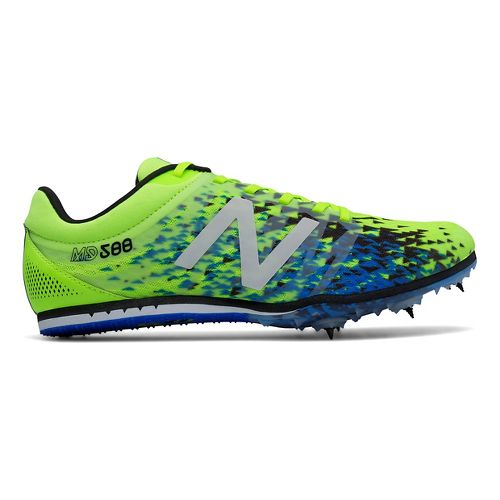 Mens New Balance MD500v5 Track and Field Shoe - Yellow/Black 11.5