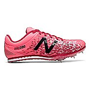 Womens New Balance MD500v5 Track and Field Shoe - Guava/Magnetic Pink 10.5