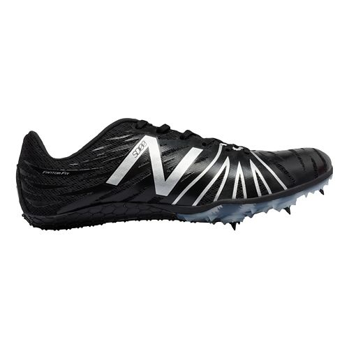 New Balance SD100v1 Track and Field Shoe - Black/Silver 4.5