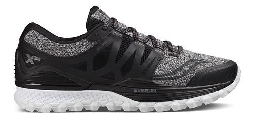 Mens Saucony Xodus ISO Trail Running Shoe - Marl/Black 10.5