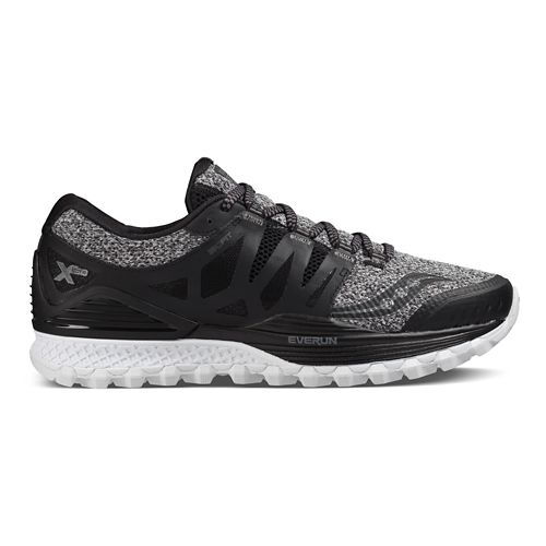 Mens Saucony Xodus ISO Trail Running Shoe - Marl/Black 7