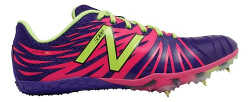 Womens New Balance SD100v1 Track and Field Shoe - Purple/Pink 6.5