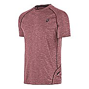 Mens ASICS Mesh Crew Short Sleeve Technical Tops
