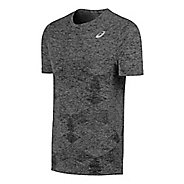 Mens ASICS Seamless Short Sleeve Technical Tops