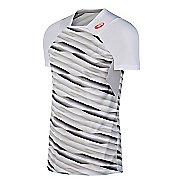 Mens ASICS Athlete Short Sleeve Technical Tops