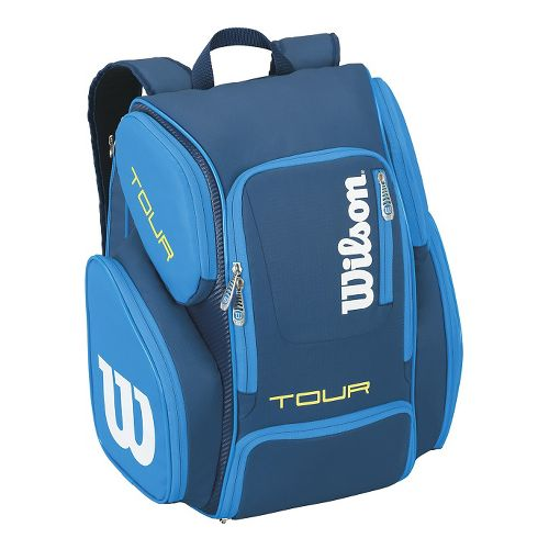 Wilson Tour V Large Backpack Bags - Blue