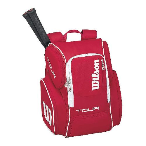 Wilson Tour V Large Backpack Bags - Red