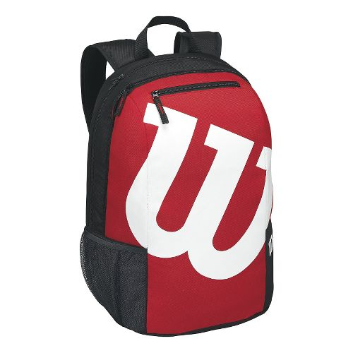 Wilson Match Backpack Fitness Equipment - Red/Black