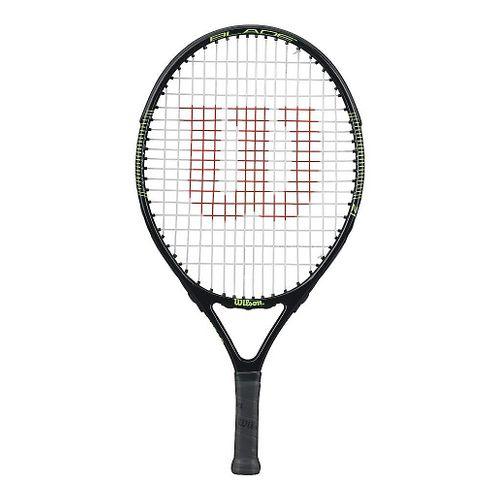 Kids Wilson Blade 21in Tennis Racquet Fitness Equipment - Black