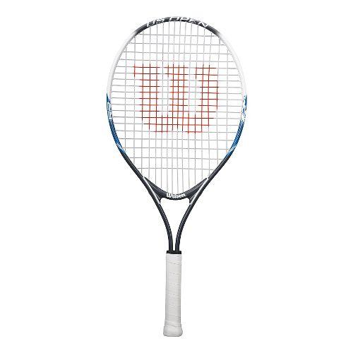 Wilson US OPEN 25in Tennis Racquet Fitness Equipment - White/Blue