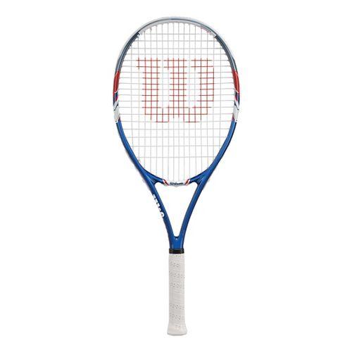 Wilson US Open 3 Racquet Fitness Equipment - Red/Blue