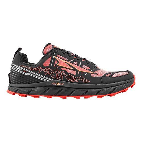 Mens Altra Lone Peak 3 Polartec NeoShell Trail Running Shoe - Black/Orange 8