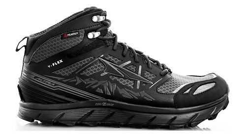 Mens Altra Lone Peak 3 Mid Polartec NeoShell Trail Running Shoe - Black 10.5