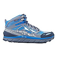 Mens Altra Lone Peak 3 Mid Polartec NeoShell Trail Running Shoe - Electric Blue 10