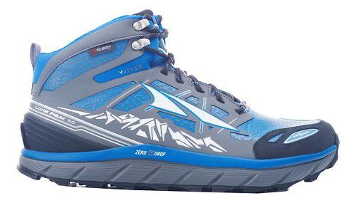 Mens Altra Lone Peak 3 Mid Polartec NeoShell Trail Running Shoe - Electric Blue 11.5