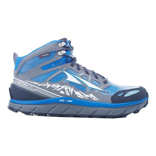 Mens Altra Lone Peak 3 Mid Polartec NeoShell Trail Running Shoe - Electric Blue 8.5 ...