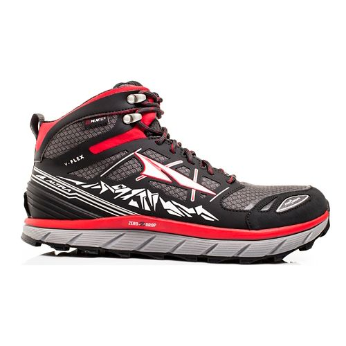 Mens Altra Lone Peak 3 Mid Polartec NeoShell Trail Running Shoe - Red 12.5