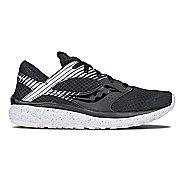 Womens Saucony Kineta Relay Reflex Casual Shoe - Black/Silver 5.5