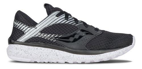 Womens Saucony Kineta Relay Reflex Casual Shoe - Black/Silver 10