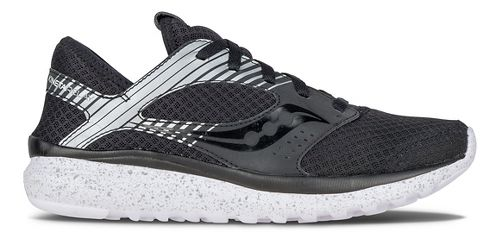 Womens Saucony Kineta Relay Reflex Casual Shoe - Black/Silver 8.5